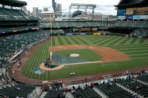 Safeco Field from the luxury seats