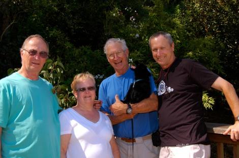Tom, Mary, Jim, & me