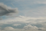 Galloping clouds