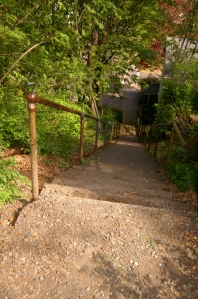 Hood River's downtown is a walker's delight with secret stairways and mini-parks.
