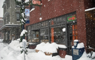 Ground Coffee Shop Amidst Our Recent Snow Storm. PS: Photo Courtesy of Their Website.
