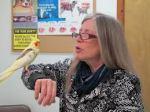 Yellow Bird Teaching Dr. K a New Song.