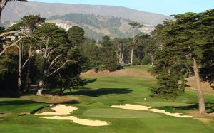 California Golf Club with South San Francisco's sign hill in the background.