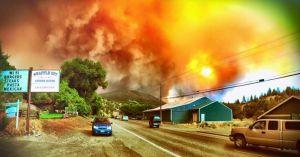 Blue Mountain Fire