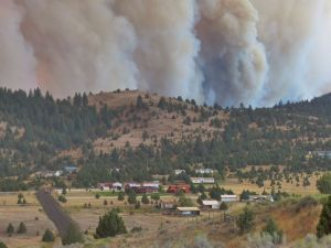 Canyon Creek Complex Fire