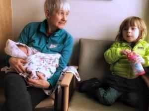 You and Nana and big sister Savannah.